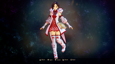 Rinwell - White Mage colors (White-Red)