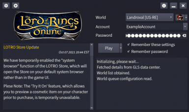 OneLauncher - The OneLauncher for LOTRO and DDO