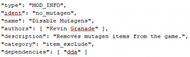 Disable Mutagens