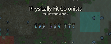 Physically Fit Colonists