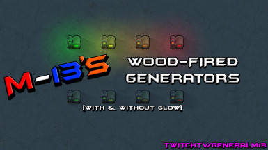 M-13's Wood-Fired Generators