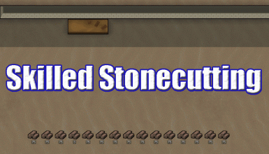 Skilled Stonecutting
