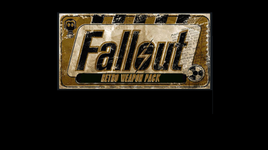 Fallout Retro Weapon Pack