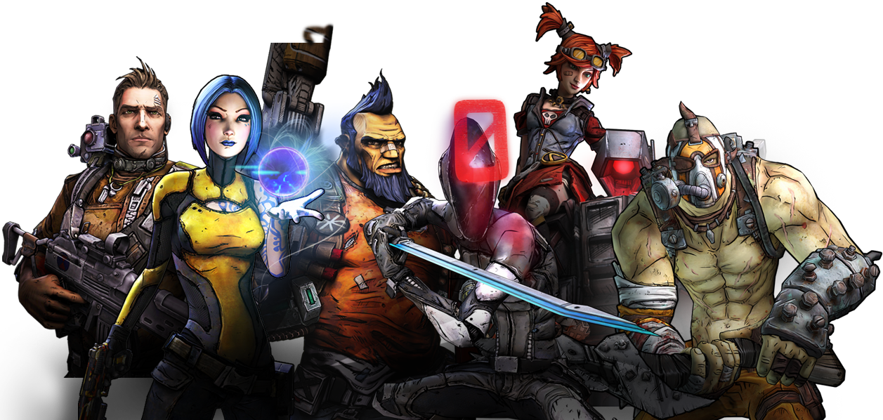 Image result for borderlands 2 characters