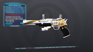 borderlands 2 infinite ammo gibbed