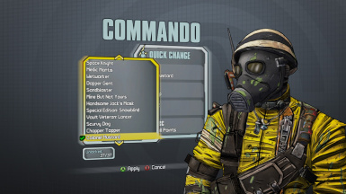All Character Head and Skins