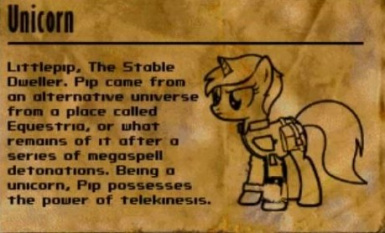 Littlepip played character