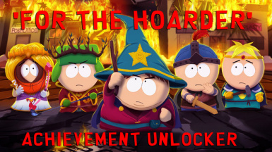 'For the Hoarder' Achievement Unlocker