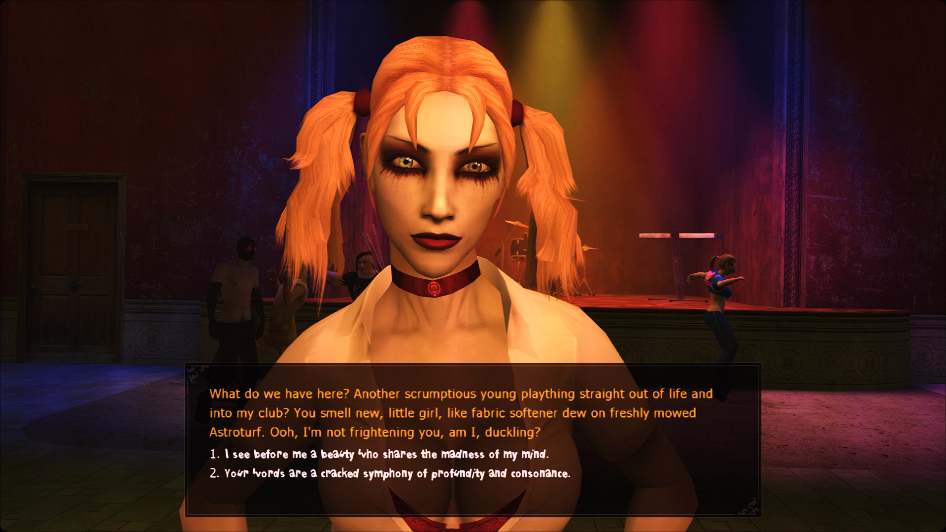 Vampire the masquerade bloodlines erotic comic