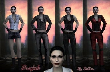Female Brujah Replacement Pack