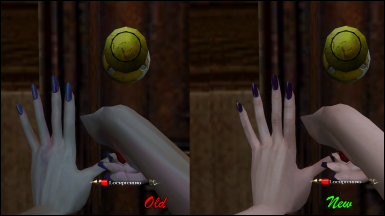 Beautiful Monster - Female Hands Retexture