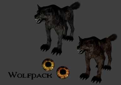 Throwing a steak for the Canis Lupus v1.1
