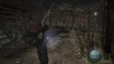Resident Evil 4 - Melee Trainer and patch files