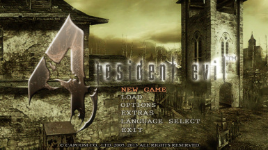 Resident Evil 4 - My HD Project (for the original game)