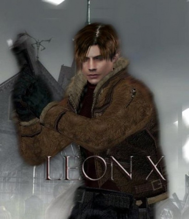 RE4 - LeonX - High Definition Leon Reskin