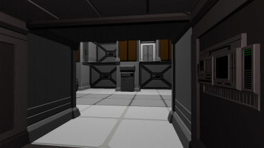 Cargo Bay from Airlock