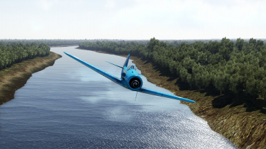 Rainbow Dash Themed Fw-190D