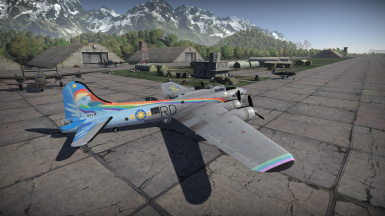 Equestria Airforce B-17G - 10 Seconds Flat
