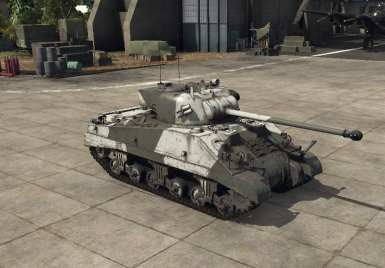 Fire Fly (Sherman VC) Night Style and Desert Camo