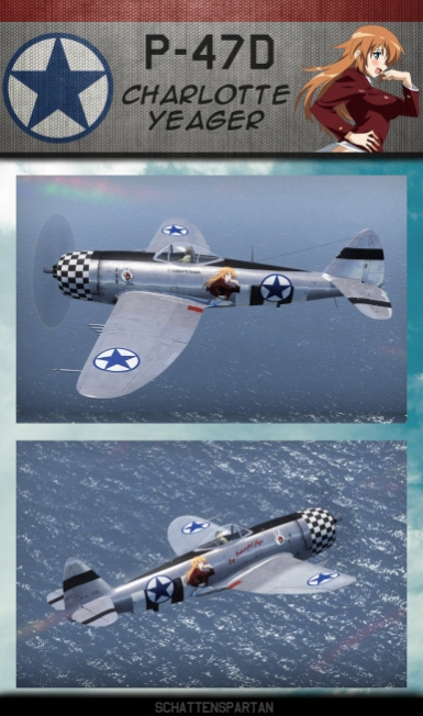 Charlotte Yeager P-47D