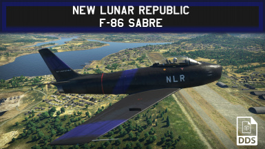 New Lunar Republic F-86 Sabre