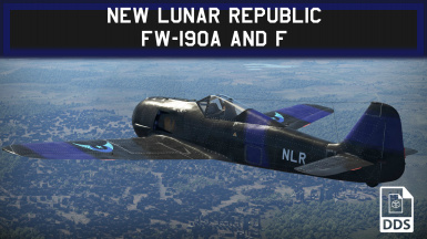 New Lunar Republic Fw-190A and F