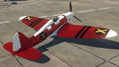 War Thunder- Red With Symbols - Plane - HE 112 A-0 - Darchon_X made User Skin V1.2