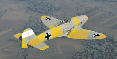 War Thunder- Silver Gold - Plane - HE 112 B - 0 - Darchon_X made user skin V1.0