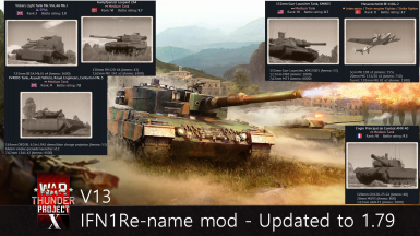 IFN1 Vehicle Re-Name Mod