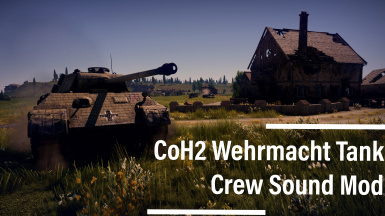 CoH2 Ostheer Medium Tank Crew Voices