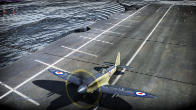 Royal Navy Seafire MkXVII SX336 for Griffon Spitfires