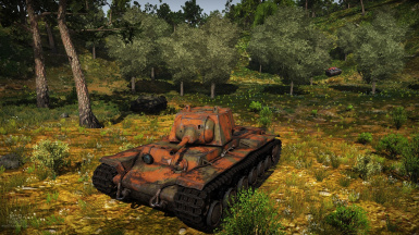 KV1 Bryansk two tone (From COH2)
