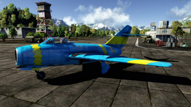 Royal Equestrian Armed Forces MiG-15 Remastered