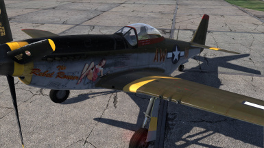 P-51D-5 The Rebel Rouser