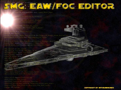 SMG XML Editor for EAW and FoC
