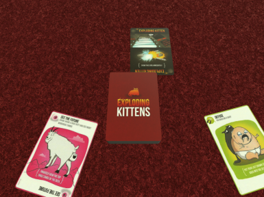 Exploding Kittens Card Game - Base