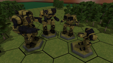 BattleTech 'Mech Pack 3 - Large Clan Collection