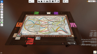 Ticket To Ride for Tabletop Simulator