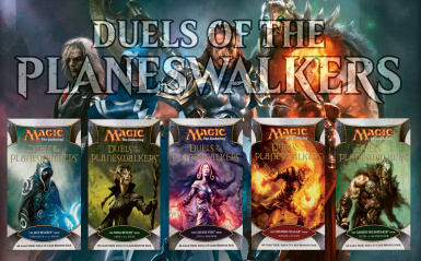 Magic Duels of the Planeswalkers Decks at Tabletop Simulator