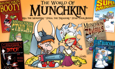 Munchkin most expansions Scripted