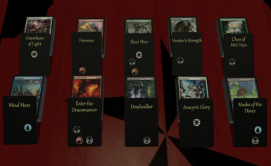 Magic - Duels of the Planeswalkers 2014 Videogame Decks and Board