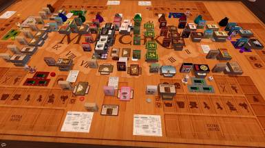 Munchkin with scripted cards and counters