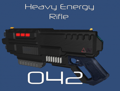 Zephyr Industries Heavy Energy Rifle