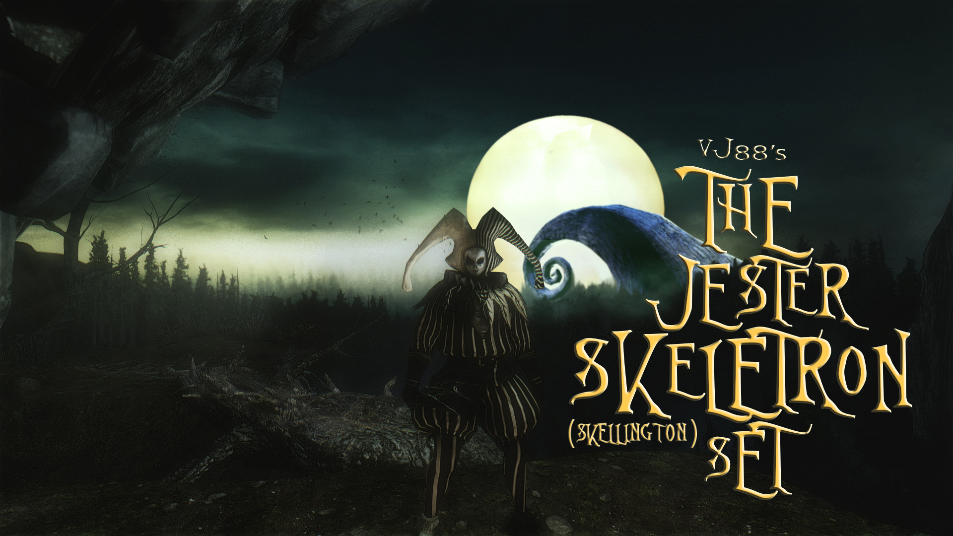The Jester Skellington (Skeletron) Set - The Nightmare Before ...
