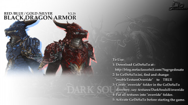 AMS002- Black Dragon Armor II