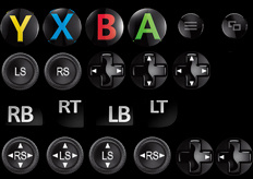 Xbox One Controller Icons