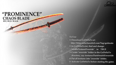 WEP005- Prominence Chaos Blade