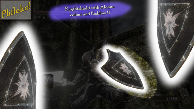 Knightshield with Alonne colour and Emblem