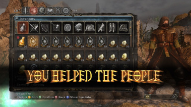 YOU HELPED THE PEOPLE