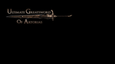 Ultimate Greatsword of Artorias - DS2 Edition